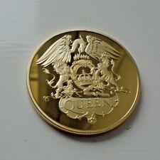 Queen 24ct Gold Plated Coin - Freddie Mercury Bohemian Rhapsody