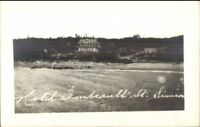 Saint St. Simeon Quebec Hotel Imbeault Real Photo Postcard