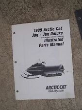 1989 Arctic Cat Jag + Deluxe Snowmobile Illustrated Parts Manual MORE IN STORE U