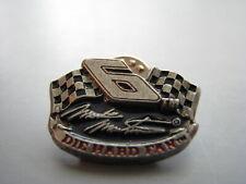 Mark Martin #6 Die Hard Fan Logo Racing Hat Pin