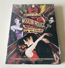 New Sealed Moulin Rouge (Dvd, 2001, 2-Disc Set)
