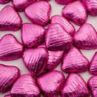 Foil Wrapped Belgian Milk Chocolate Hearts High Quality Wedding Party  Favours