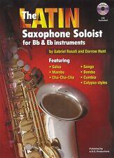 Latin Sax Soloist Book/downloadable audio files