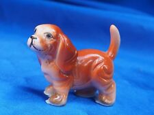 Vintage porcelain Spaniel puppy dog Really Cute! cocker Field Spaniel