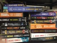 Lot of 5 Mystery Suspense Thriller Crime Murder Michael Connelly RANDOM MIX