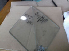 1966 Mustang Wing Vent Window Clear Carlite Glass PAIR 5K October Date Code C6ZB