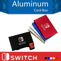 Metal Storage Case Box Game Card Holder Organizer for Nintendo Switch Portable
