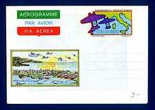 ITALIA REP. - Aerogrammi - 1983 - SECONDA TRASVOLATA ATLANTICA