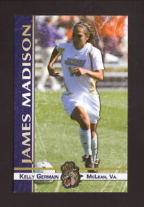 James Madison Dukes--2011 Soccer Pocket Schedule