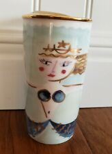 RARE Starbucks Mermaid Mug Tumbler Coffee Cup 12 Oz Gold Lid 2014