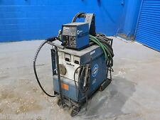 Miller CP300 Mig Welder 300 Amps 24V Wire Feed W Leads and Portable Cart