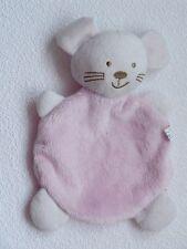 Babydream Rossmann Katze / Maus in rosa Schmusetuch Schnuffeltuch Kuscheltuch *