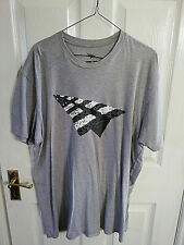 PAPER PLANES GREATNESS IS A PROCESS MENS GREY SHORT SLEEVE T SHIRT TOP SIZE XL