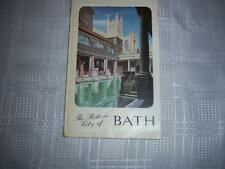 The Historic City of Bath Book Booklet