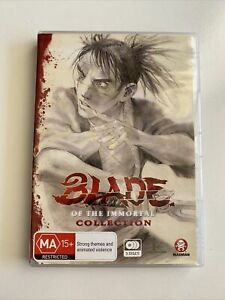 Blade Of The Immortal Collect DVD Box Set 3 Discs R4 PAL Anime Madman