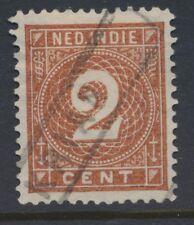 NED. INDIE, HALTEST. KRIAN VOLLEDIG OP 2 CT. NR. 18     Zj682
