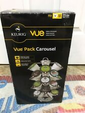 KEURIG VUE Pack Carousel Holds 24 Packs at your Fingertips Spins on a base ~New