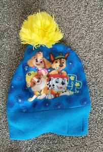 Great Condition Paw Patrol Bobble Hat One Size