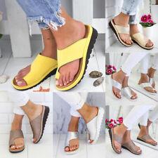 Women Ladies Summer Platform Sandals Slippers Flip Flop Comfy Mules Shoes Size