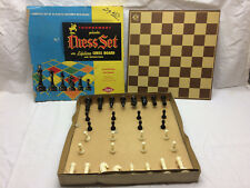 Vintage Chess Set By Lowe Co. Inc. New York Original Box