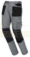 Pantalone invernale lavoro flanella multi tasche elasticizzati ISSA LINE 8730WS