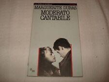 MARGUERITE DURAS - MODERATO CANTABILE Ed. Les Editions De Minuit 1990