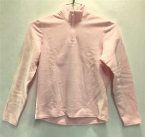 Hot Chillys Youth Pepper Fleece Base Layer Top Light Pink Kids Small NEW