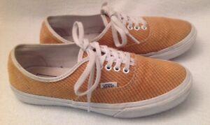 VANS Inca Gold Unisex Lace-Up Skate Shoes Sneakers Men's 6 Women's 7.5 Yellow
