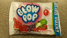 CHARMS BLOW POP Candy Bag Assorted BUBBLE GUM Filled POPs 5.85 oz value pack