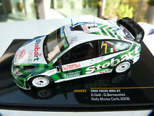 1 43 IXO Ford Focus WRC no 7 Rallye Monte-Carlo 2008 Galli/Bernacchini