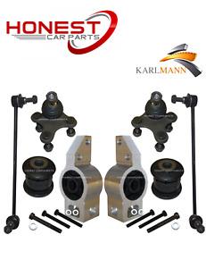 For AUDI A3 SEAT ALTEA LEON TOLEDO FRONT WISHBONE ARM BUSHS & BALLJOINTS + LINKS