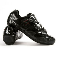 VeloChampion Elite Road Cycling Shoes SPD Shimano look cleat compatible ratchet