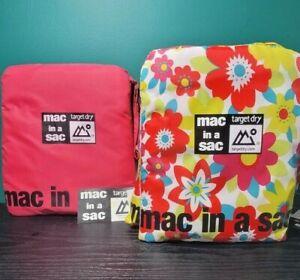 Target Dry Mac in a Sac Poncho - BNWT - Bright - Festival - One Size