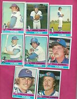 1976 TOPPS CHICAGO CUBS  CARD LOT  (INV# C2033)