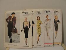 Vogue Patterns Paris Original Emanuel Ungaro dresses 1468,1585,1834, 2310, 2405