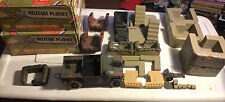 LOT OF 2 ULTIMATE SOLDIER- CHANCE ENCOUNTER PLAYSET/ COASTAL DEFENSE THE BLUFFS