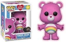 Funko Pop! Cheer Orso Care Bears Glow in Dark Chase Figura in vinile + protettore POP