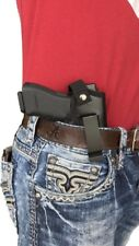 THE ULTIMATE IWB LEATHER GUN HOLSTER FOR TAURUS PT-140,PT-111,PT-145 With Laser