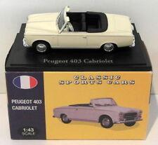 Véhicules miniatures Atlas pour Peugeot 1:43