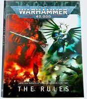 WARHAMMER 40K: THE RULES~9th Edition Softcover MANUAL/RULEBOOK~GAMES WORKSHOP GW