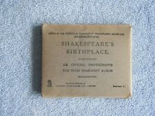 Shakespeare's Birthplace / 12 Official Photographs / Series 1