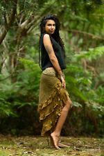 Gypsy Bohemian Hippie Skirt - Festival Sexy Layer Lace Crochet