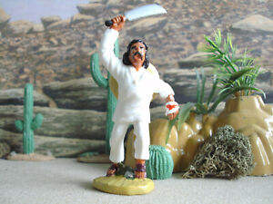 Western toys Mexican peasant figure 3 1:32 painted