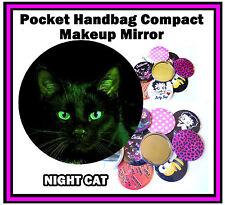 NIGHT CAT-BORSETTA / TASCHINO Trucco Specchio Compatto-Nuovo di Zecca-REGALO