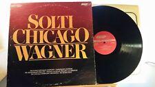 Wagner Solti Chicago London CS 7078 3G 3G Ted Burket 1st press