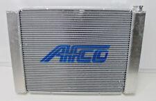 "AFCO Racing RADIATOR Crossflow FORD with Heat Exchanger Aluminum 28.5""  NEW"