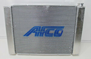 "AFCO Racing RADIATOR Crossflow FORD with Heat Exchanger Aluminum 28.5""  NEW"
