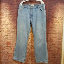 Levis Strauss Signature Womens Misses 16 Medium Stretch Mid Rise Bootcut