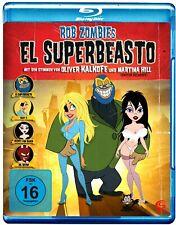 The Haunted World Of El Superbeasto - Rob Zombie NEW SEALED BLU-RAY UK REGION B
