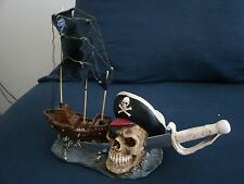 PIRATE SKULL, SWORD & SHIP. THE BUCCANEER BY MASTER CUTLERY